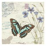 Papillon Tales I Reproduction giclée Premium par  Pela