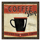 Coffee Roasters II Giclee Print by Pela Studio