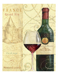Wine Passion I Giclee Print by Daphne Brissonnet