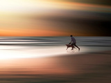 Beach Games Photographic Print by Josh Adamski