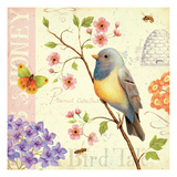 Birds and Bees I Prints by Daphne Brissonnet