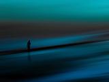 Bleu aigue-marine Reproduction photographique par Josh Adamski