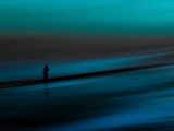 Aqua Photographic Print by Josh Adamski