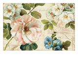 Les Jardin I Poster von Lisa Audit