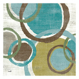 Vintage Bubbles I Premium Giclee Print by Moira Hershey