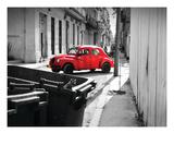 La Coccinelle Rouge Premium Giclee Print by Sebastien Nouet