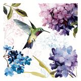 Spring Nectar Square II Giclee-tryk i høj kvalitet af Lisa Audit
