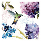 Spring Nectar Square II Wydruk giclee premium autor Lisa Audit