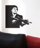 Scarface - Large Wall Decal