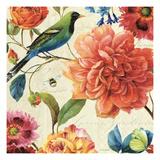 Rainbow Garden II Giclee-tryk i høj kvalitet af Lisa Audit