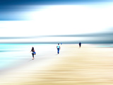 Walk Through the Light Photographic Print by Josh Adamski