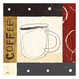 Urban Coffee III Giclee Print by Mo Mullan
