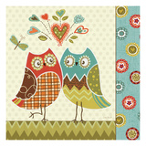 Owl Wonderful II Premium Giclee Print by Lisa Audit