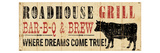 Roadhouse Grill Giclee Print by  Pela