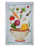 Retro Fresh Premium Giclee Print by Laura Pascal