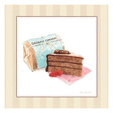 Gateau Chocolat Giclee Print by Susan Eby Glass