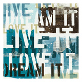 Live the Dream I Giclee Print by Mo Mullan