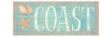 Pastel Coast Premium Giclee Print by Daphne Brissonnet