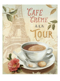 Cafe in Europe II Reproduction procédé giclée par Lisa Audit