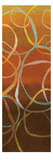 Square Dancing Circles II Premium Giclee Print by Sarah Adams