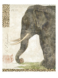 L'Elephant Giclee Print by Wild Apple Portfolio