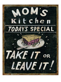 Mom's Kitchen Giclee Print by Pela Studio