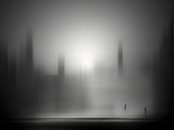 Pale City Photographic Print by Josh Adamski