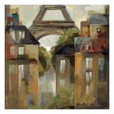 Paris Late Summer I Giclee-tryk i høj kvalitet af Silvia Vassileva