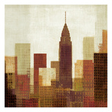 Summer in the City III Giclee Print by Mo Mullan