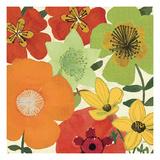 Garden Brights I Premium Giclee Print by  Pela