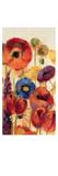 Joyful Garden Panel II Premium Giclee Print by Silvia Vassileva