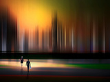 City Life Photographic Print by Josh Adamski