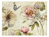 Marche de Fleurs IV Premium Giclee Print by Lisa Audit