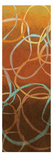 Square Dancing Circles I Premium Giclee Print by Sarah Adams