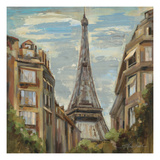 A Moment in Paris I Giclee Print by Silvia Vassileva