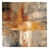Silver and Amber Crop Giclee Print by Silvia Vassileva