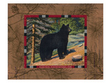 Black Bear I Giclee Print by Wild Apple Portfolio