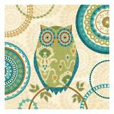 Owl Forest I Premium Giclee Print by Veronique Charron