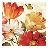 Poesie Florale III Premium Giclee Print by Lisa Audit