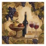 Wine and Cheese I Reproduction procédé giclée par Silvia Vassileva