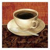 Coffee Talk II Premium Giclee Print by Daphne Brissonnet