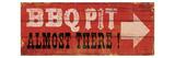BBQ Pit Reproduction procédé giclée par  Pela