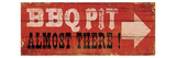BBQ Pit Giclee Print by  Pela