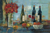 Fruit and Wine Affiches par Silvia Vassileva