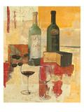 Contemporary Wine Tasting III Reproduction procédé giclée par Avery Tillmon