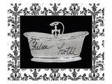 Paris Hotel Tub I Reproduction procédé giclée par Susan Eby Glass