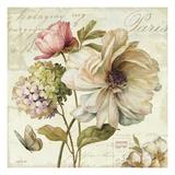 Blomster Giclee-tryk i høj kvalitet af Lisa Audit