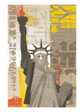 Liberty Poster by Mo Mullan