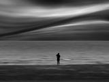 Alleine Fotografie-Druck von Josh Adamski