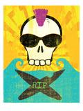 Rip Poster by Sarah Adams